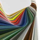 Abstract color chart Stock Image