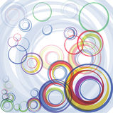 Abstract color circles Stock Photo