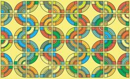 Abstract color circles background Stock Photos