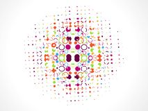 Abstract  color, dotes, grunge Royalty Free Stock Image