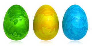 Abstract color egg Stock Images