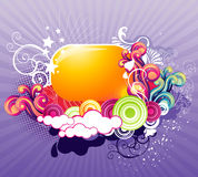 Abstract color fantasy. Abstract background color fantasy illustration stock illustration