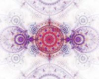 The abstract color fractal image. Royalty Free Stock Image