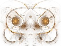 The abstract color fractal image. Texture. background stock illustration