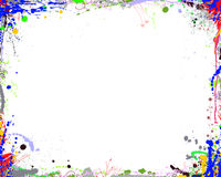 Abstract Color Frame Royalty Free Stock Photography