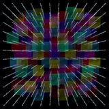 Abstract color-full background. (HQ 3D image royalty free illustration