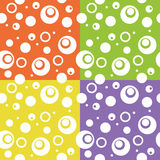 Abstract color fun circle background. Royalty Free Stock Photography