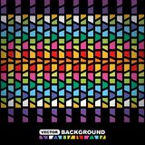 Abstract color geometric background Stock Images