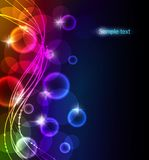 Abstract color glowing background Royalty Free Stock Image