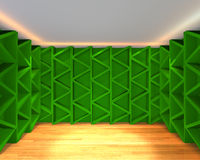 Abstract color green wall interior design Royalty Free Stock Photo