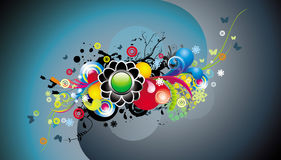 Abstract color illustration Stock Photo