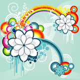 Abstract color illustration Royalty Free Stock Photography