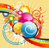 Abstract color illustration Royalty Free Stock Photo