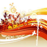 Abstract color illustration Royalty Free Stock Images