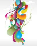 Abstract color illustration  Stock Photos