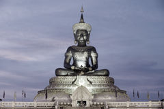 Abstract color of Large outdoor Phra Phuttha Maha Thammaracha Buddha. Royalty Free Stock Photo
