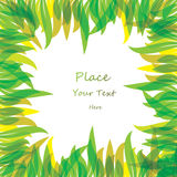 Abstract color leaf background. Vector illustration Royalty Free Stock Image