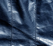 Abstract color leather texture with stiches. Royalty Free Stock Photos