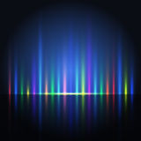 Abstract color light lines Royalty Free Stock Images