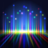 Abstract color light lines Royalty Free Stock Photo