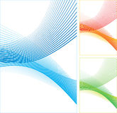 Abstract color lines. Stock Photos