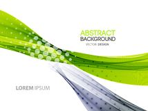 Abstract color lines background. Template brochure Royalty Free Stock Images