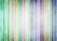Abstract color lines background. Vintage scratches style Stock Image