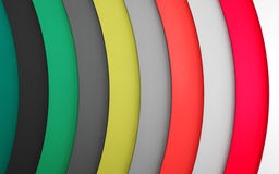 Abstract color lines. 3d background Royalty Free Stock Image