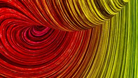 Abstract color lines. 3d illustration Stock Photography