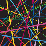 Abstract color lines net composition Royalty Free Stock Photography