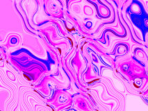 Abstract Color Mix. Pink and Blue Color Patterns Stock Photos