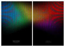 Abstract color mosaic background Royalty Free Stock Images