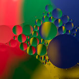 Abstract color oil drops Royalty Free Stock Image