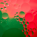 Abstract color oil drops Royalty Free Stock Photography