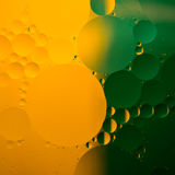 Abstract color oil drops Stock Photo