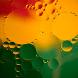 Abstract color oil drops Stock Photos