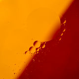 Abstract color oil drops Royalty Free Stock Photo