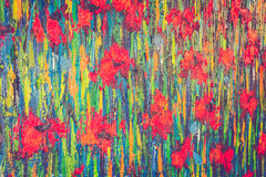 Abstract color oil paint Royalty Free Stock Photos