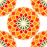 Abstract color ornaments background. Vector illustration Royalty Free Stock Image