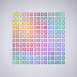 Abstract Color Palette Royalty Free Stock Photos