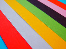 Abstract color paper sheets background Royalty Free Stock Image