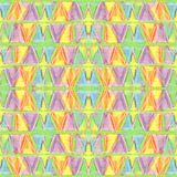Abstract color pastel seamless pattern in primitive style. royalty free stock image