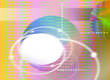 Abstract rainbow stripe background Royalty Free Stock Image
