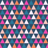 Abstract color pattern of geometric shapes. Royalty Free Stock Images