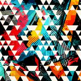 Abstract color pattern in graffiti style. Quality vector illustration for your design Stock Photography