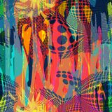 Abstract color pattern in graffiti style. Quality vector illustration for your design royalty free illustration