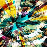 Abstract color pattern in graffiti style. Quality vector illustration for your design Royalty Free Stock Photography