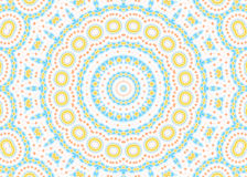Abstract color pattern on white background Royalty Free Stock Photos