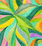 Abstract color pencil background Stock Photos
