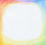 Abstract color pencil scribbles background. Royalty Free Stock Images